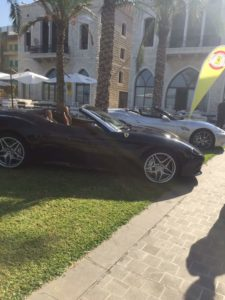 Ferrari showcase Event at Hayali Bay
