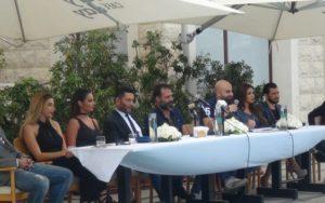Falcon Films Press Conference at Hayali Bay