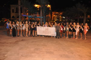 Miss Tourism universe at Hayali Bay