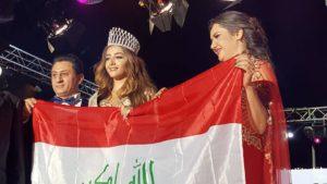 The winner Sabaa from iraq - Miss Tourism universe at Hayali Bay